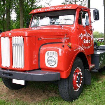 Odrestaurowana Scania z 1972 roku! Zobacz, jak się prezentuje!