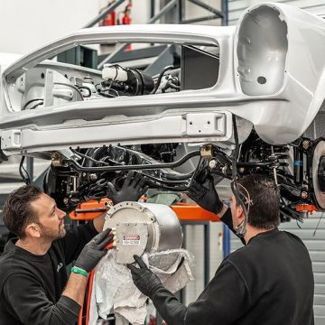 W113. Klasyczny Mercedes z nowoczesnym silnikiem? Hemmels rzuca rękawicę