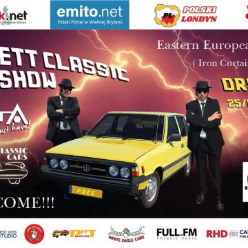Londyn: 25 lipca odbędzie się Orsett Classic Car Show – zlot fanów klasyków wschodnioeuropejskich